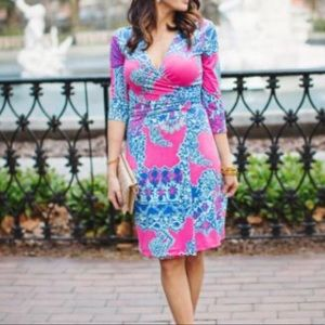 Lilly Pulitzer Yvette Faux Wrap Dress